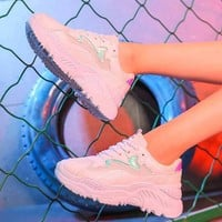 Aesthetic Platform Sneakers