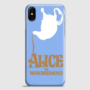 Alice In Wonderland Door iPhone X Case