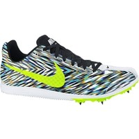 Nike Women's Zoom Rival D 8 Track and Field Shoe - White/Black/Volt | DICK'S Sporting Goods
