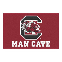 South Carolina Gamecocks NCAA Man Cave Starter Floor Mat (20in x 30in)