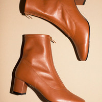 By Far Shoes - Brown Neva Boots | BONA DRAG