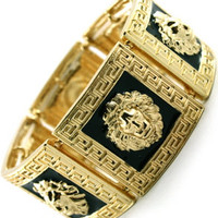ROIAL Lion Cuff Gold
