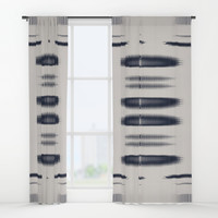 Almost Cozy glitch Window Curtains by duckyb