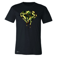 Zexpa Apparel™ Soldier Camo Diamond Dripping Bleeding Men's T-shirt Cool  Tee