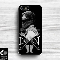 Daryl Dixon Walking Dead iphone 5s 5c 6s case, samsung, ipod, iPad, HTC, Nexus, LG, iPad Cases