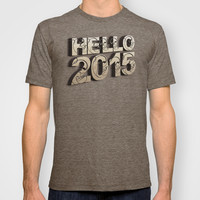 HELLO 2015 ! T-shirt by Nirvana.K