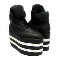 Get High Stripes by Monster Shoes
