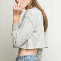 GENICE CROPPED SWEATER
