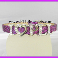 PLLBracelets.com - Pretty Little Liars I LOVE PLL Bracelet