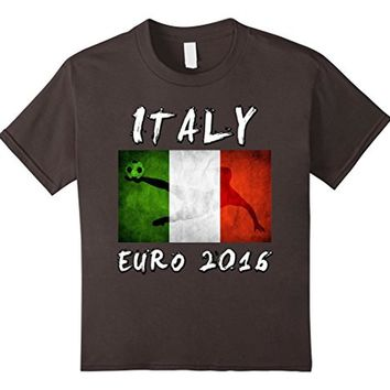 ITALY flag EURO T-shirt Soccer National Football Team Jersey
