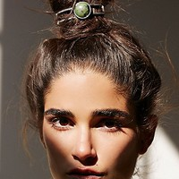 Free People Womens Stone Bun Cuff