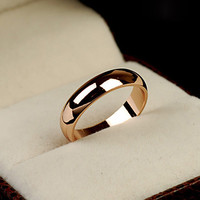 Trendy Gold Plated Wedding Wedding Bands For Women