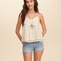 Textured Pintuck Cami