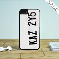 License Plate Supernatural iPhone 5S Case