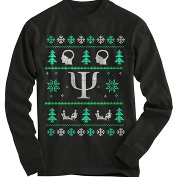 Psychologist Ugly Christmas Sweater