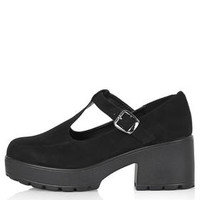 FINDER Mary Jane Shoes - Black