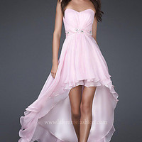 High-Low Prom Dresses, La Femme Dresses for Prom 2012- PromGirl