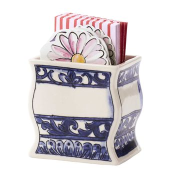 Bouquet Note Cards In Caddy