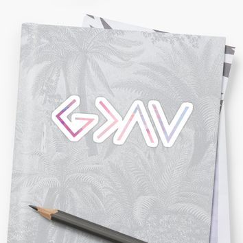 'God Is Greater Than the Highs and Lows' Sticker by Bethel Store
