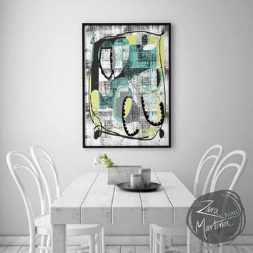 Printable Art, Wall Decor, Instant Download, 'Celebration Print'
