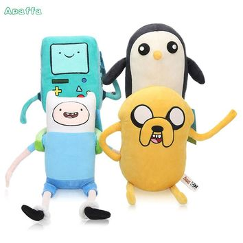 20cm Adventure Time Cartoon Animie Plush Toy Jake Penguin Gunter Finn Beemo BMO Soft Stuffed Animal Dolls Party Supplies Gifts
