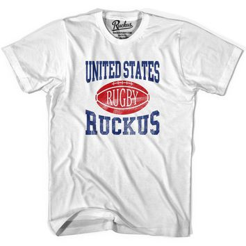 United States Ruckus Rugby T-shirt