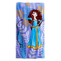 Disney Merida Beach Towel - Brave - Personalizable | Disney Store