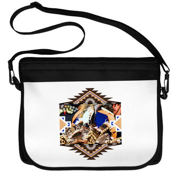 Native American Dancer 1 Neoprene Laptop Shoulder Bag
