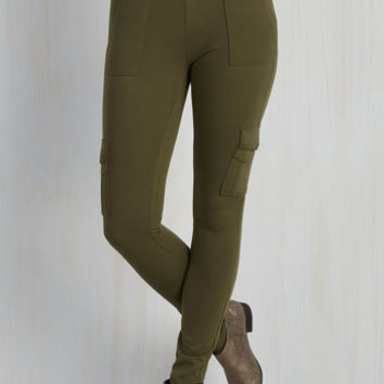 Military Skinny Ahead of the Glam Pants