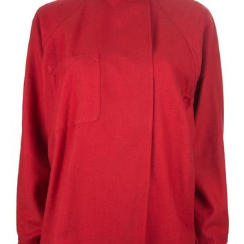 Genny By Gianni Versace Vintage funnel neck top