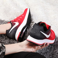 """NIKE"" Trending Fashion Casual Sports Shoes Red/Black"