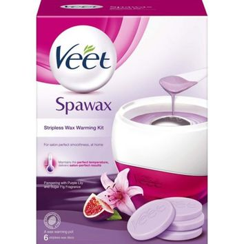 Veet Spawax Stripless Wax Warming Kit