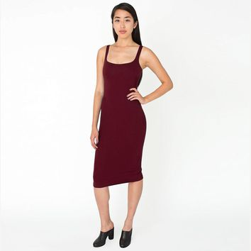 Women Sexy Deep Scoop neck dress slim slip dress Spring Summer Sundresses