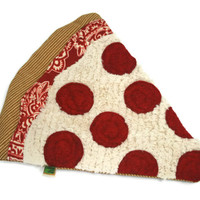 Dog Toy No Stuffing and No Squeaker - Pepperoni Pizza