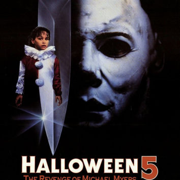 Halloween 5: The Revenge of Michael Myers 11x17 Movie Poster (1989)