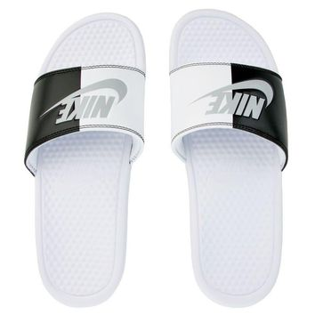 Nike Benassi JDI Men's Slide Slipper 343880-104 Free Shipping