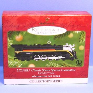 2001 Lionel Chessie Steam Special Locomotive Hallmark Ornament