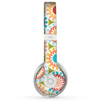 The Vintage Vector Color Circle Pattern Skin for the Beats by Dre Solo 2 Headphones