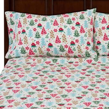 Mainstays Flannel Bedding Sheet Set - Walmart.com