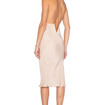 TITANIA INGLIS x REVOLVE Plunge Slip dress in Blush