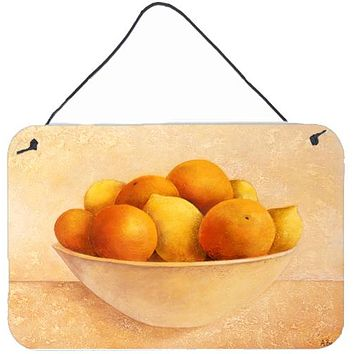 Oranges & Lemons in a Bowl Wall or Door Hanging Prints BABE0085DS812