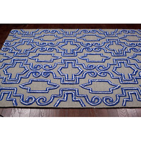 nuLOOM Europe Blue Casey Area Rug & Reviews | Wayfair
