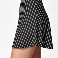 Lisakai Stripe Woven Mini Skirt at PacSun.com