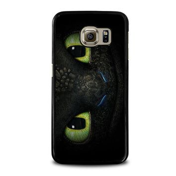 toothless how to train your dragon samsung galaxy s6 case cover  number 1