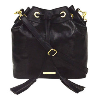 Liz Claiborne® Drawstring Bucket Bag