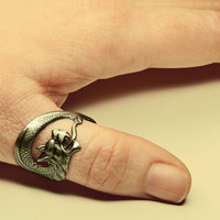 Game of Thrones Steampunk Ring - Dragon Ring Inspired By the Acclaimed Series