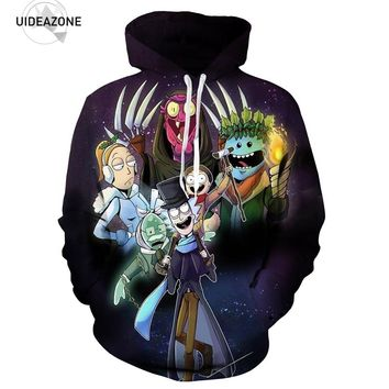 Rick And Morty Hoodie