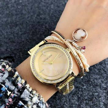 Michael Kors MK Women Diamonds Fashion Quartz Movement Simple Wristwatch Watch