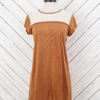 Altar'd State Simple in Suede Dress | Altar'd State