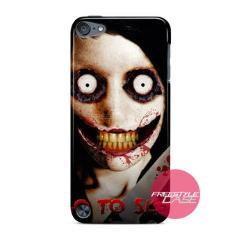 Jeff The Killer Go To Sleep iPod Case Cover